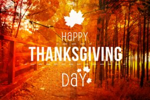 Happy Thanksgiving From The Colorado Center for Gynecologic Oncology
